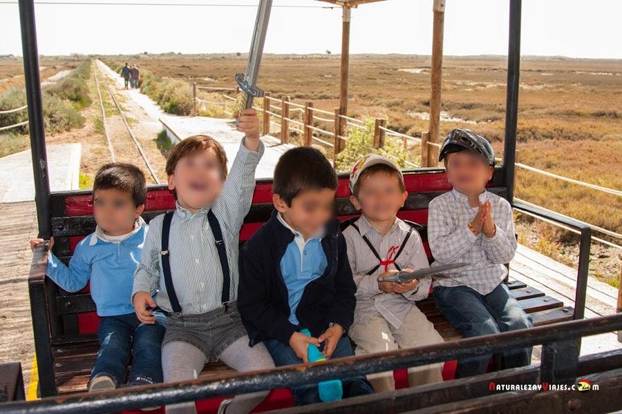 Playa del Barril Algarve con niños