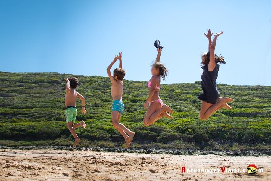 12 planes para viajar con niños al Algarve