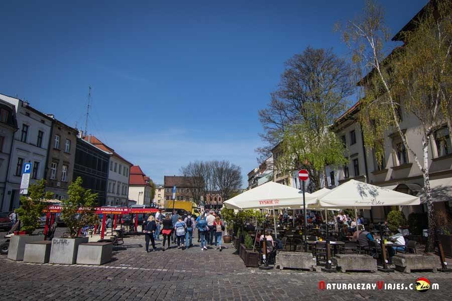 Calle Szerokaz en Kamizierz, Cracovia