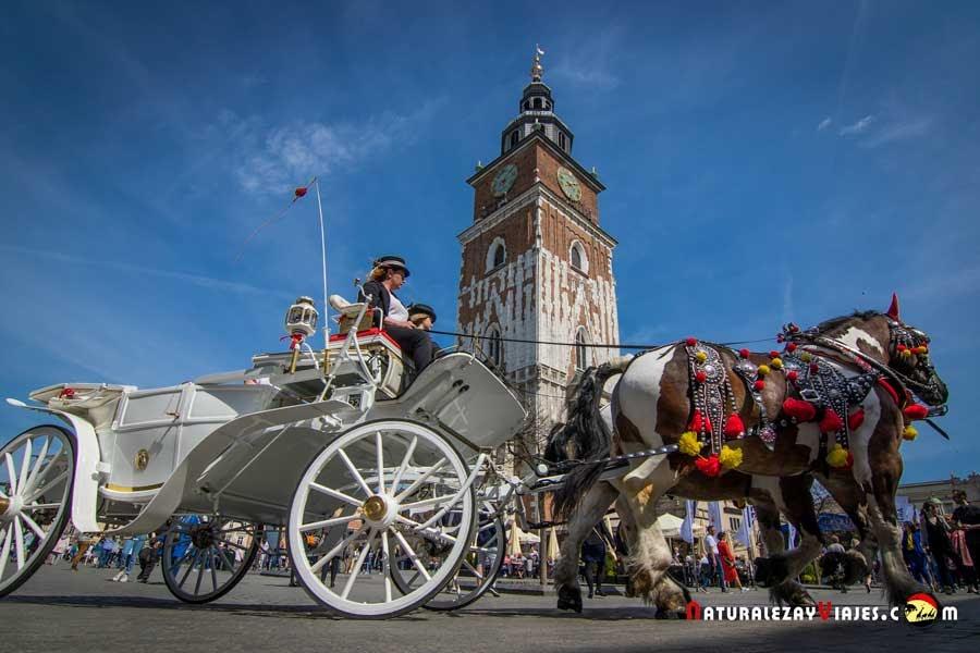 Qué ver en el centro histórico de Cracovia