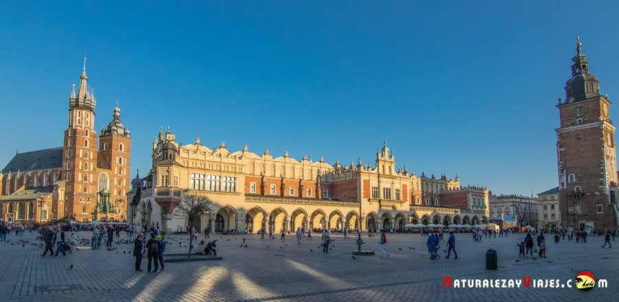 Plaza Mayor de Cracovia