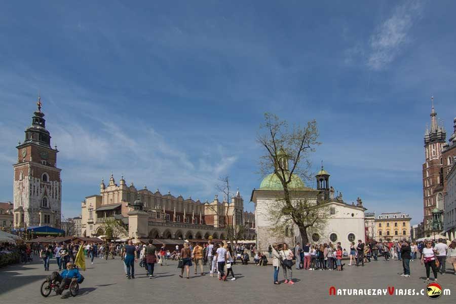 Plaza Mayor de Cracovia