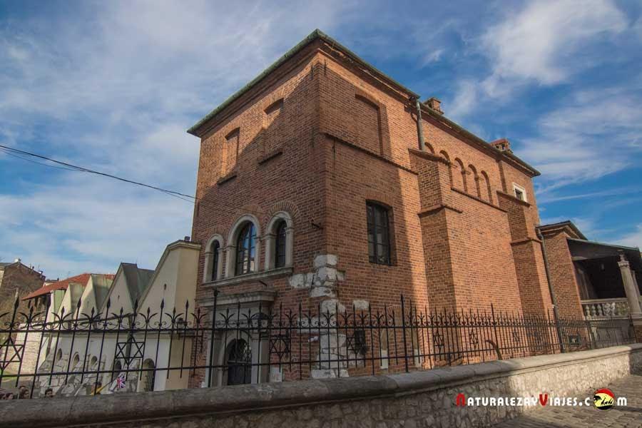 Sinagoga vieja en Kazimierz, Cracovia
