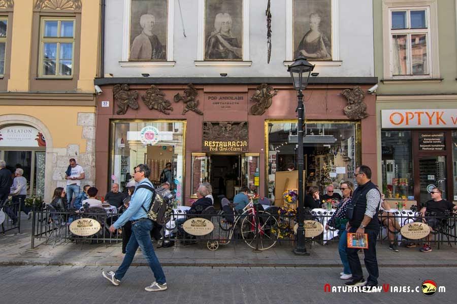 Restaurante Pod Aniolami en Cracovia