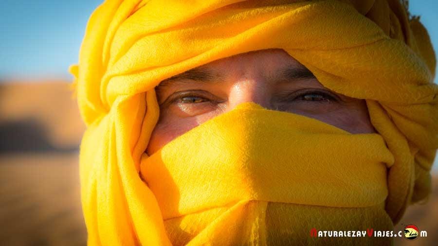 Aventura en el desierto de Merzouga (dunas Erg Chebbi), Marruecos)