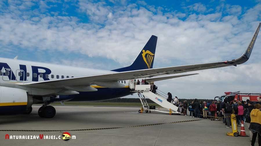 Ryanair en Cracovia