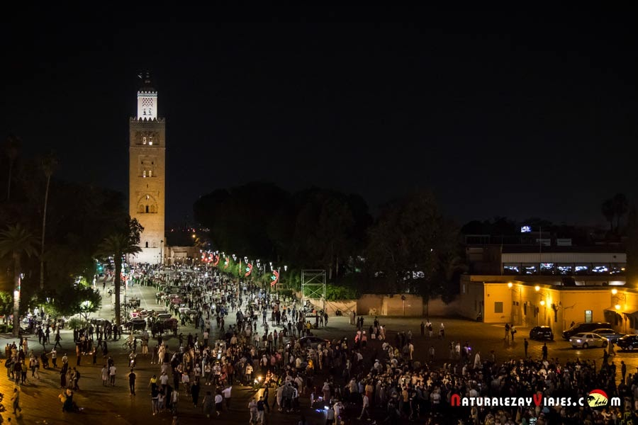 Mezquita Koutoubia de Marrakech, Marruecos