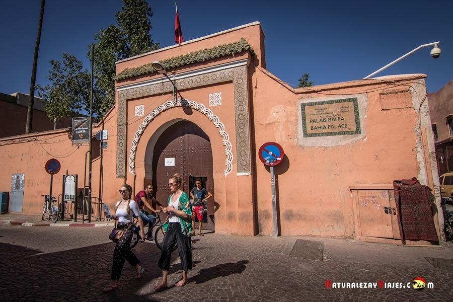 Palacio de la Bahía de Marrakech, Marruecos
