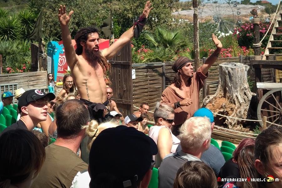 Piratas en Zoomarine, Algarve