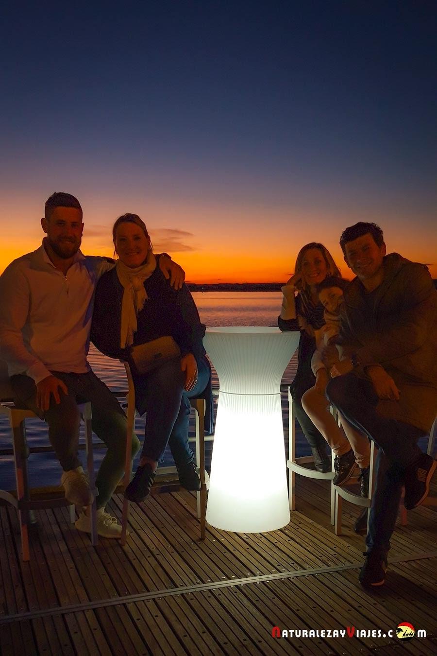 En la Ría de Huelva, de los mejores planes