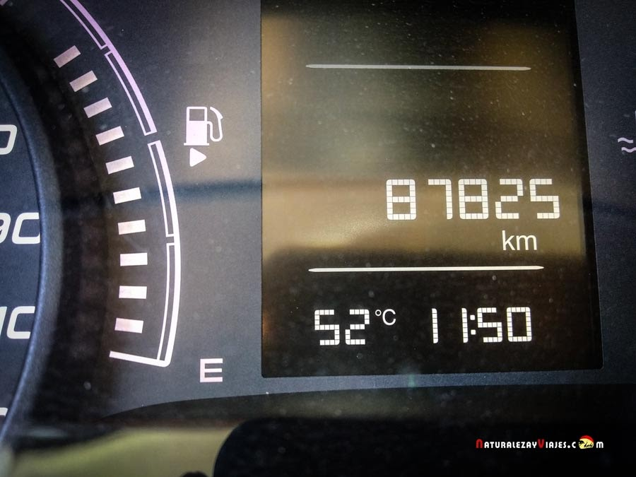 Temperatura en el desierto de Merzouga