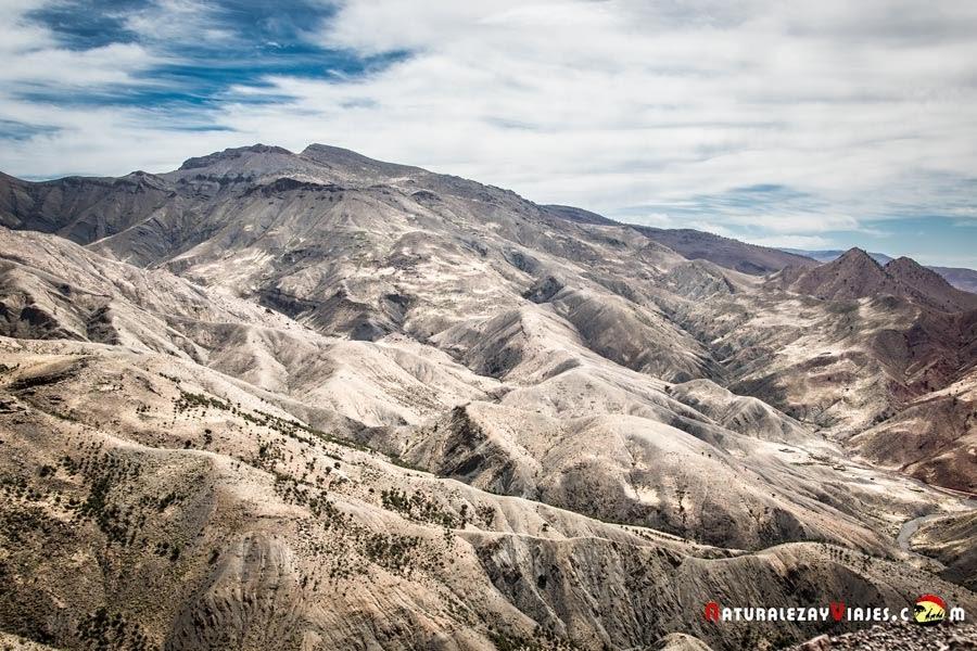 Atlas Marruecos desde Col Tichka