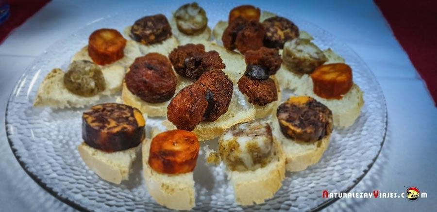 Embutidos de la gastronomía Tajo Internacional
