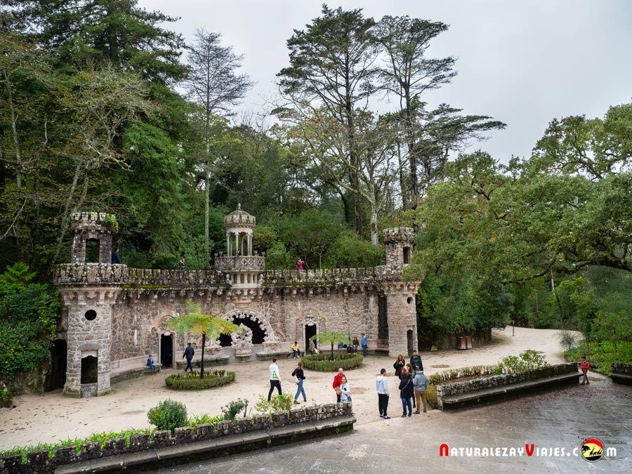 Fuente abundancia, Quinta de Regaleira, Sintra, Portugal