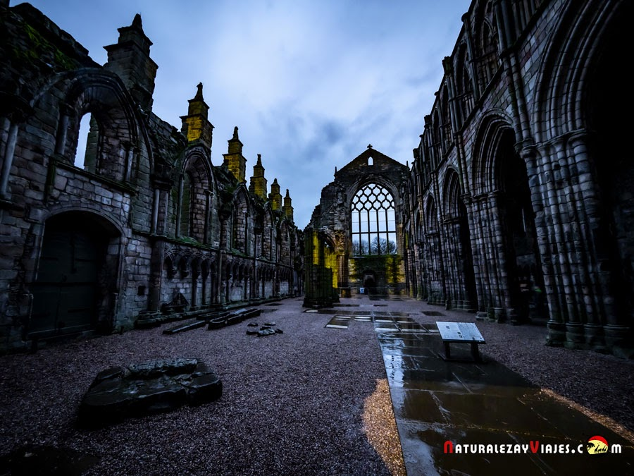 Abadía de Holyroodhouse, Edimburgo