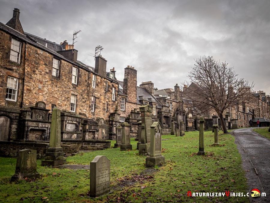 Cementerio Greyfriars, Edimburgo