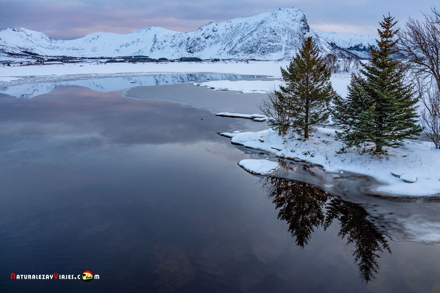 Lago Steirapollen, Islas Lofoten