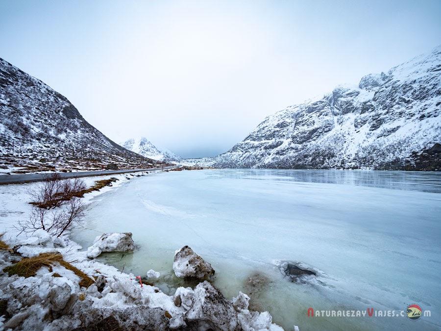 Lago Storvatnet, Islas Lofoten