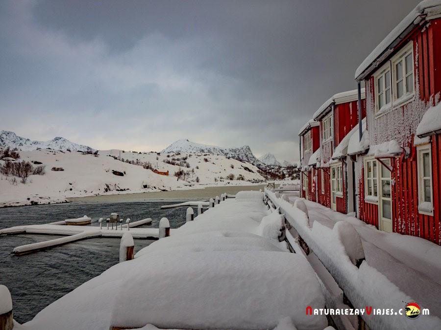 Nyvågar Rorbuhotel, Islas Lofoten