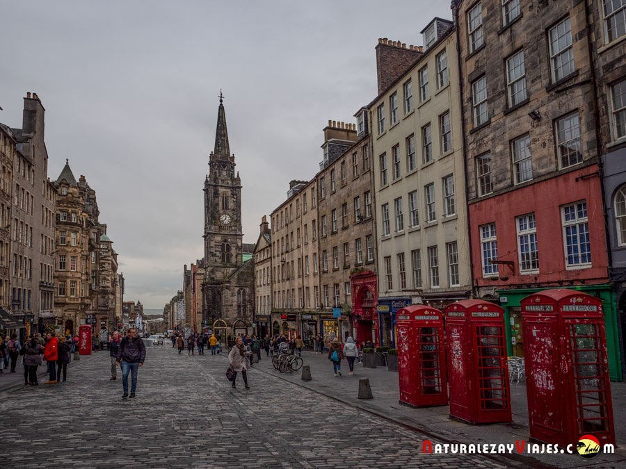 Royal Mile de Edimburgo
