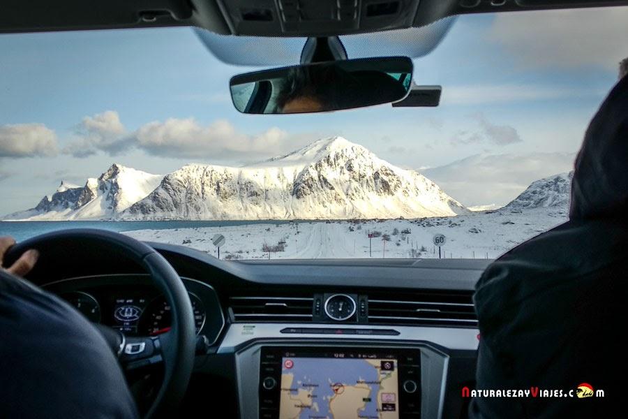 Conducir en Islas Lofoten