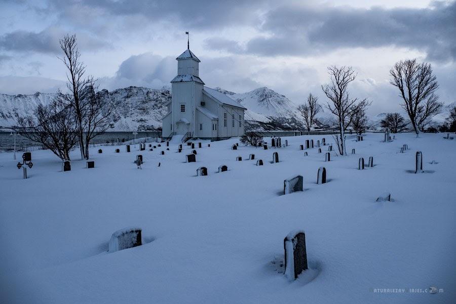Cementerio en Noruega