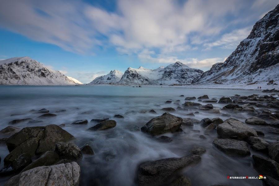 Dónde ver auroras boreales en Lofoten