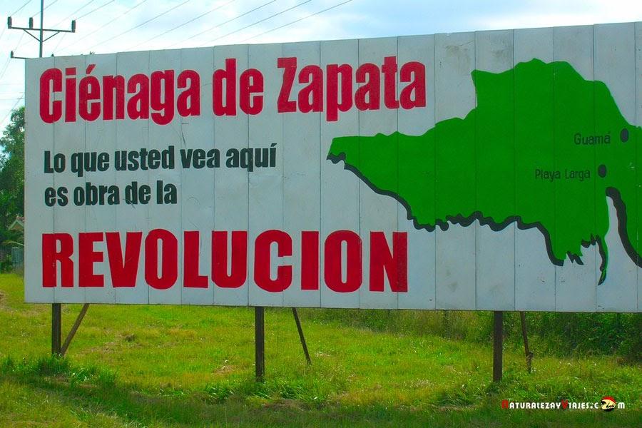 El Parque Nacional Ciénaga de Zapata y la Bahía de Cochinos, Cuba