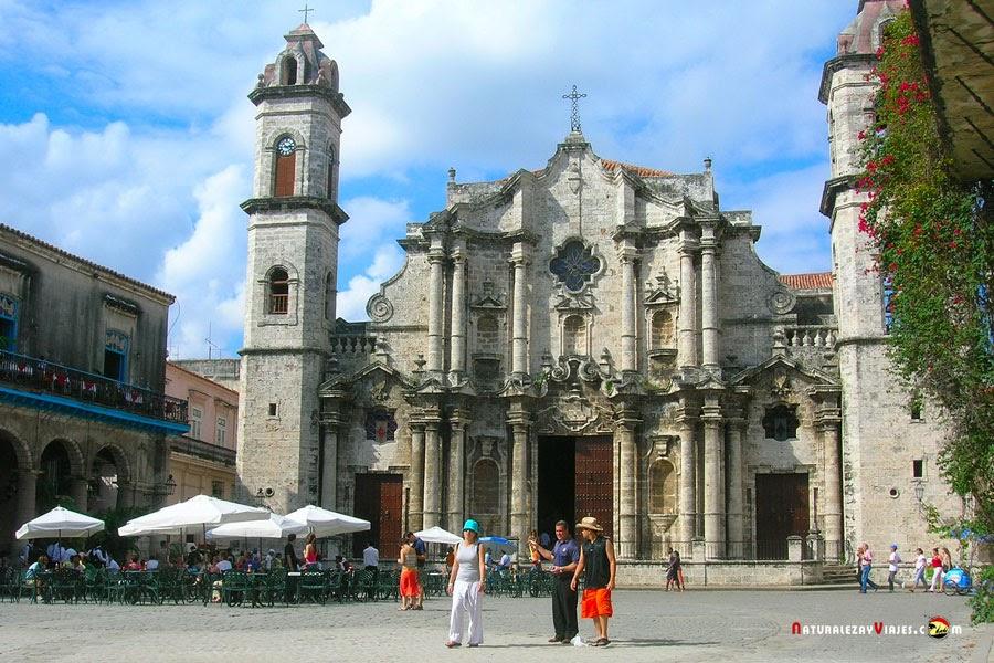 Catedral en La Habana