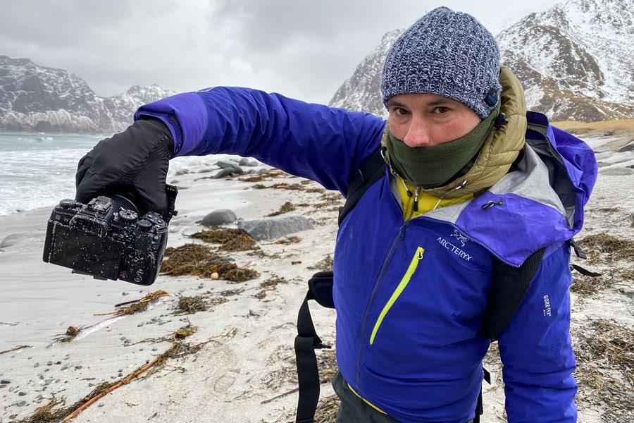 Consejos para fotografiar auroras boreales en las Islas Lofoten, Noruega