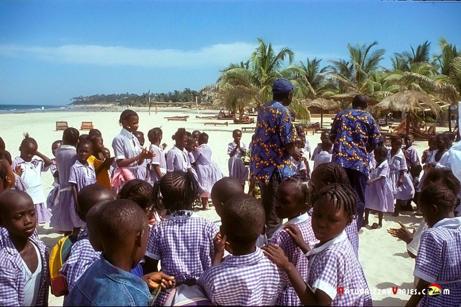 Paradise beach, Gambia