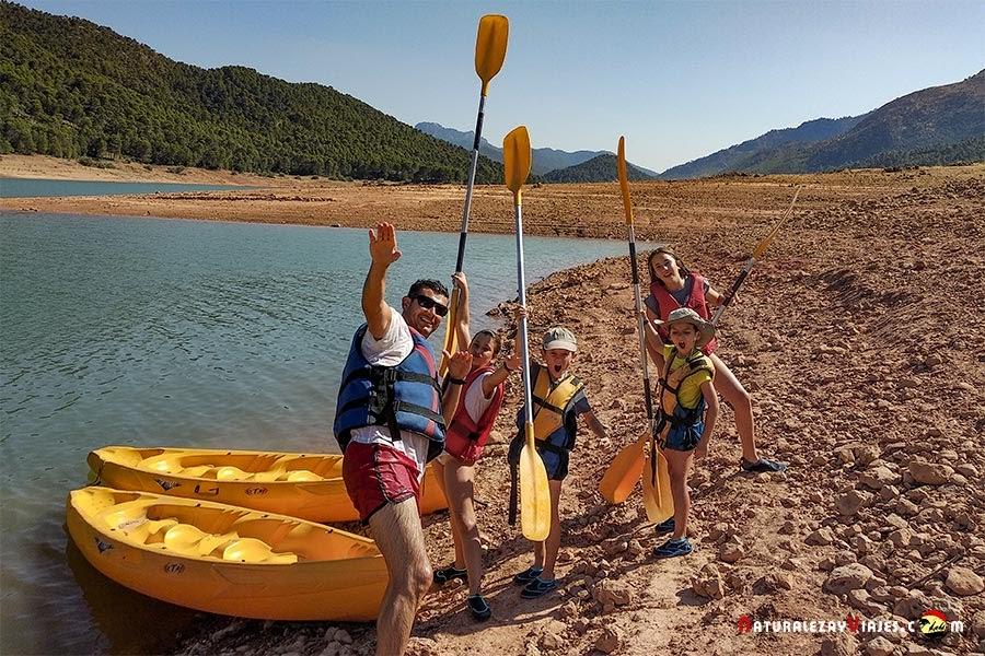 Kayak Sierra Cazorla