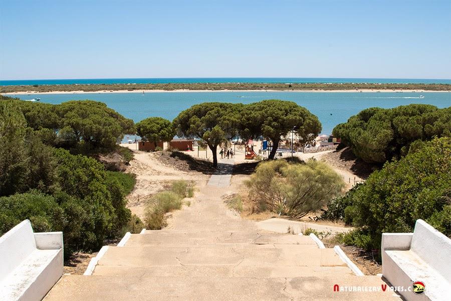 Playa Flecha de El Rompido, Huelva