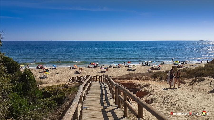 Playa Rompeculos o Arenosillo, Huelva