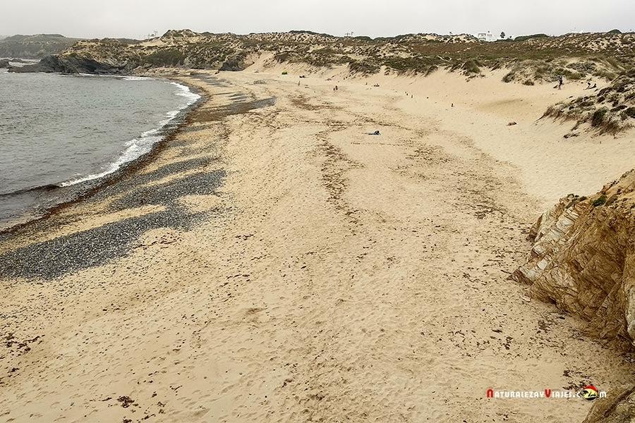 Praia do Carreiro Da Fazenda, Vila Nova Milfontes