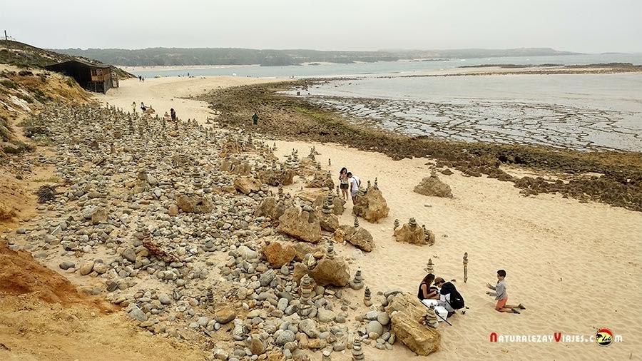 Praia do Farol en Vila Nova Milfontes