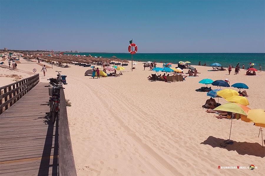 Praia Manta Rota. Escapada de un día al Algarve