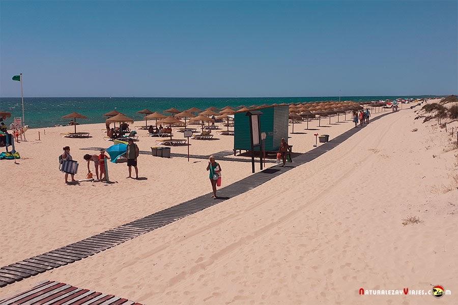 Playa Manta Rota, Algarve