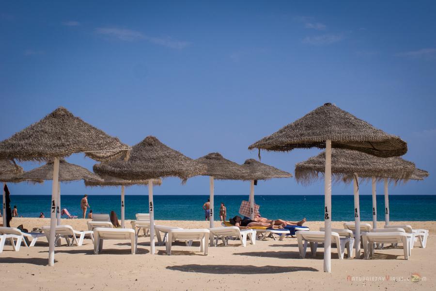 Playas bonitas del Algarve cerca de Huelva