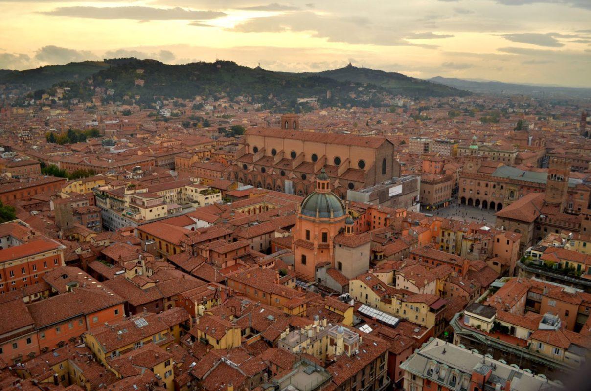 Bolonia, una visita de 24 horas… y bajo la lluvia