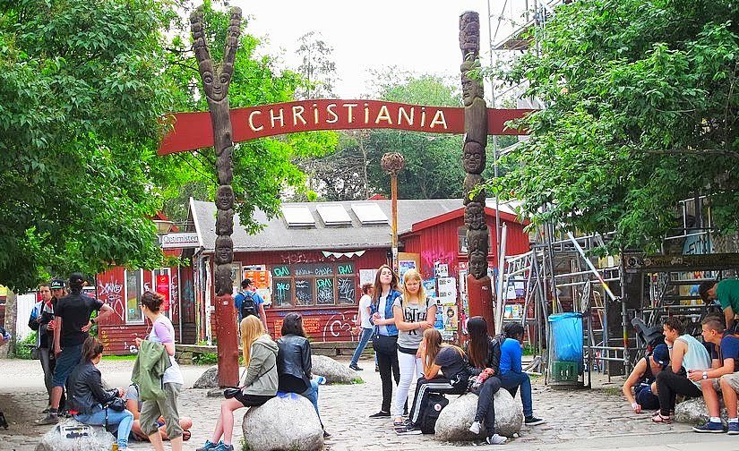 Viaje a Copenhague. Christiania y el Castillo de Rosenborg