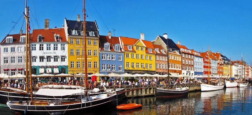 Viaje a Copenhague. Canal Nyhavn, Churchill Parken y el Palacio Amalienborg