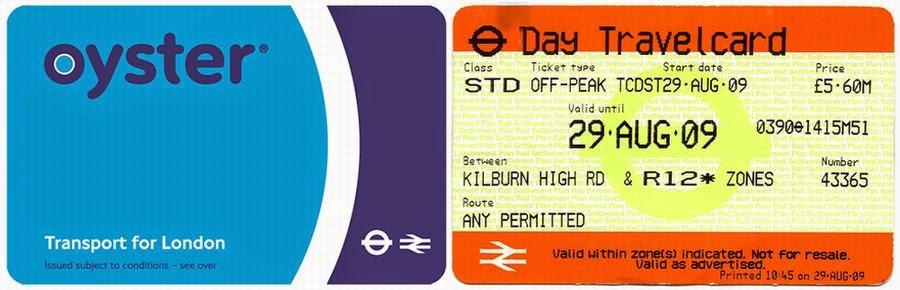 Oyster Card y Travelcard. Qué tarjeta de transporte comprar en Londres