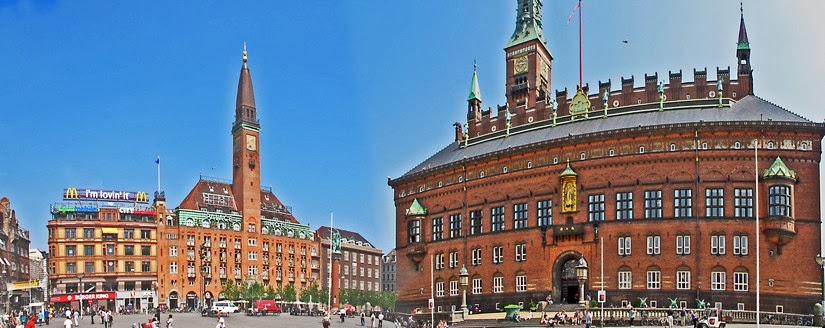 Viaje a Copenhague. Rådhuspladsen y Strøget