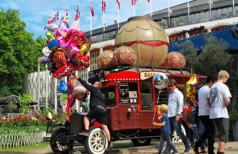 Viaje a Copenhague. Parque de Atracciones Tivoli
