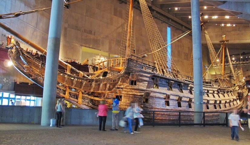 Viaje a Estocolmo. El buque de guerra del Museo Vasa