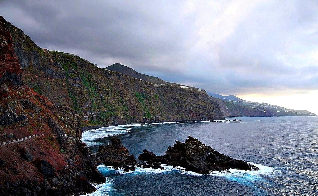Isla La Palma. Playa de Nogales