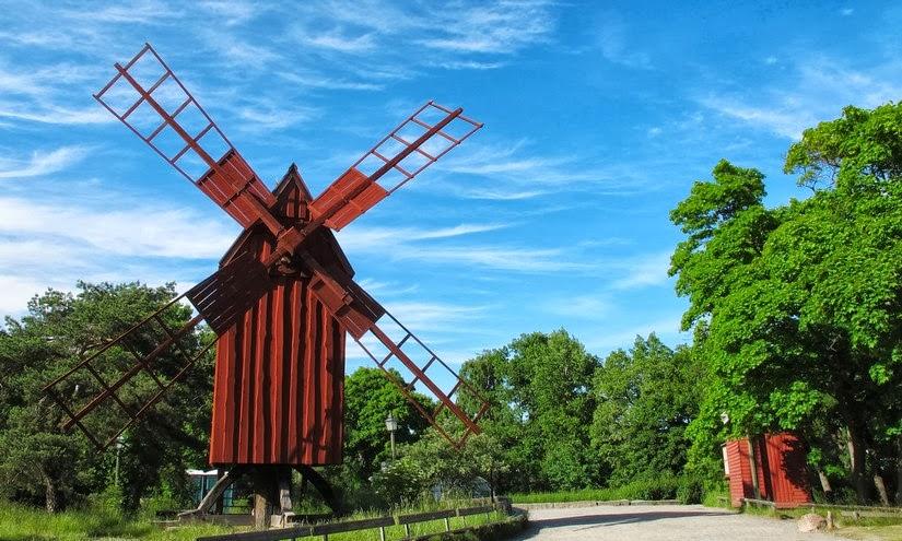 Viaje a Estocolmo. Skansen, el primer museo al aire libre del mundo.