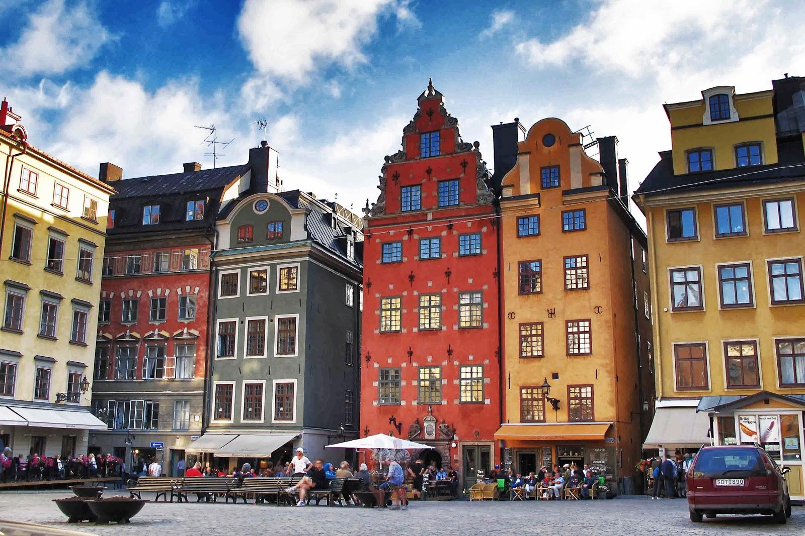 Viaje a Estocolmo. Gamla Stan, el casco antiguo