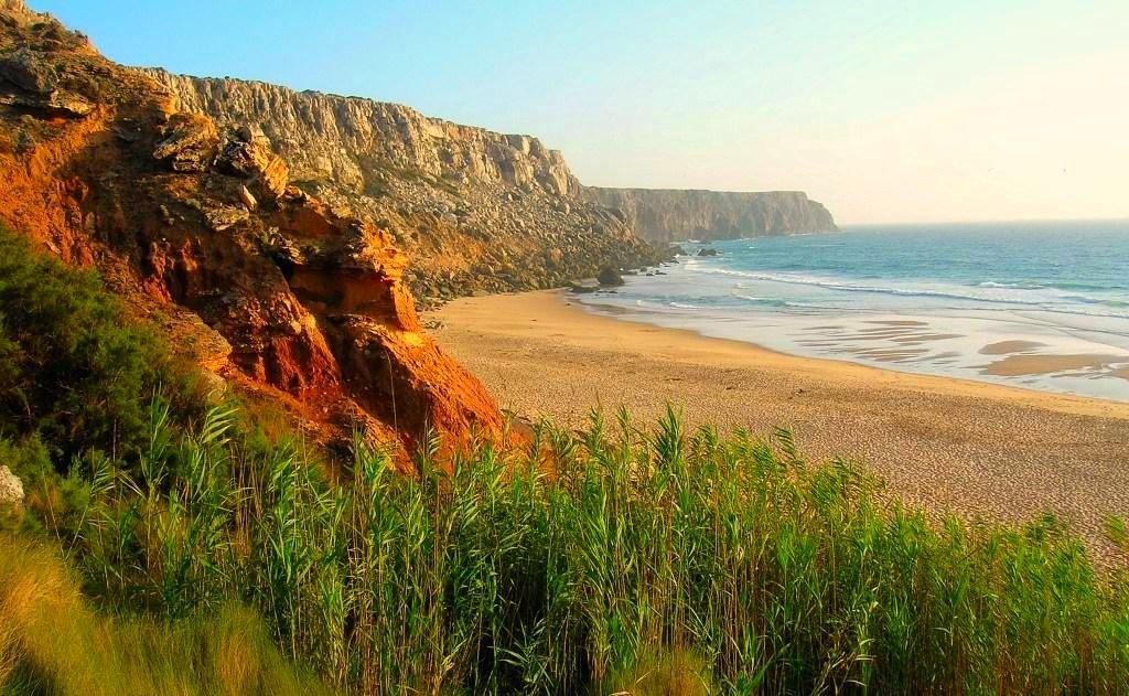 Praia Telheiro, Algarve, playas vírgenes